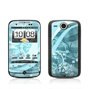 HTC Wildfire Flores Agua Skin