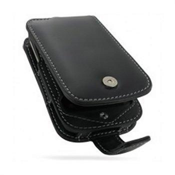 HTC Wildfire PDair Leather Case 3BHTWEF41 Musta