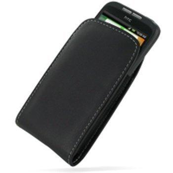 HTC Wildfire PDair Leather Case 3BHTWEV01 Musta