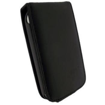 HTC Wildfire S iGadgitz Nahkakotelo Musta