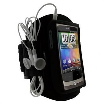 HTC Wildfire iGadgitz Waterproof Armband Black