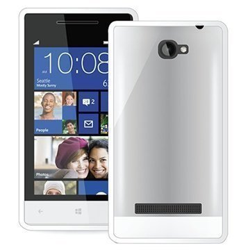 HTC Windows Phone 8S Puro Clear Kotelo Valkoinen