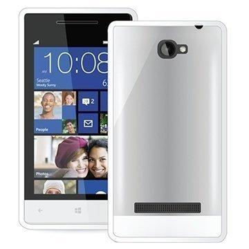 HTC Windows Phone 8S Puro Clear Kotelo Valkoinen