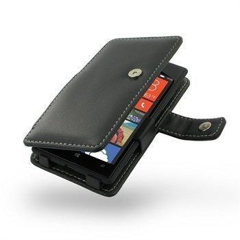 HTC Windows Phone 8X PDair Leather Case 3BHT8XB41 Musta