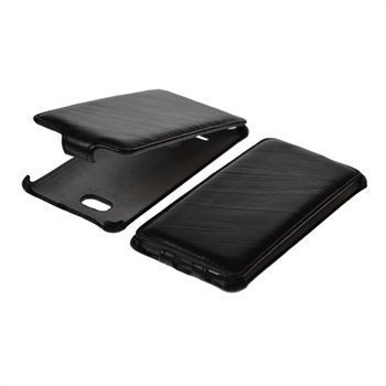HTC Windows Phone 8X StarCase Roma Linea Flip Leather Case Black