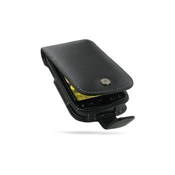 HTC myTouch 4G PDair Leather Case 3BHTM4F41 Musta