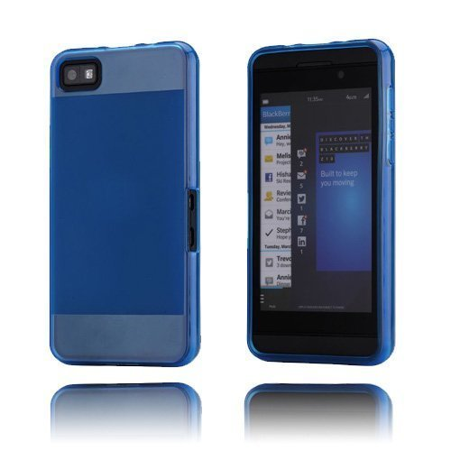 Half-Tone Sininen Blackberry Z10 Suojakuori
