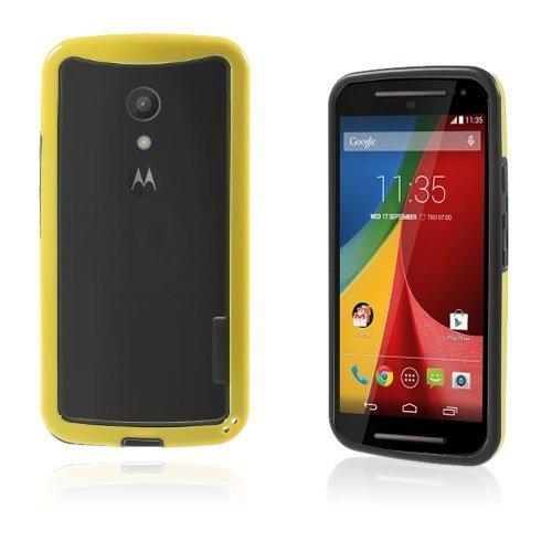 Hamsum Keltainen Motorola Moto G2 Bumper Suojakehys