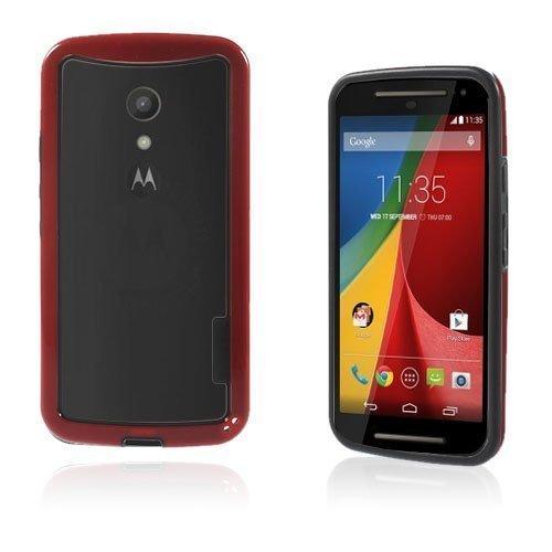 Hamsum Punainen Motorola Moto G2 Bumper Suojakehys