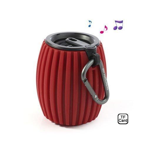 Hand Grenade Punainen Langaton Bluetooth Kaiutin