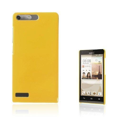 Hansen Keltainen Huawei Ascend G6 Suojakuori