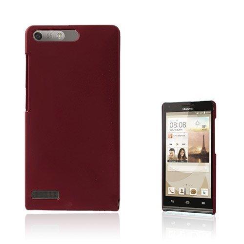 Hansen Punainen Huawei Ascend G6 Suojakuori