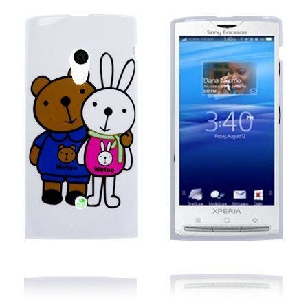 Happy Cartoon Kamut Sony Ericsson Xperia X10 Suojakuori