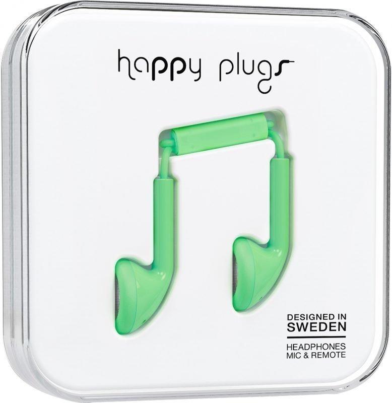Happy Plugs Earbud Green