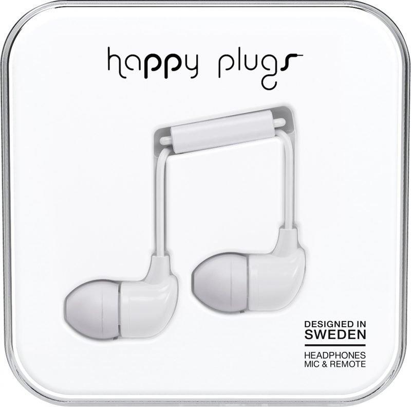Happy Plugs In-Ear Black