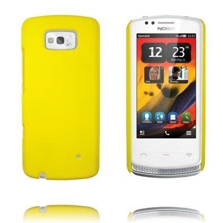 Hard Case Keltainen Nokia 700 Suojakuori