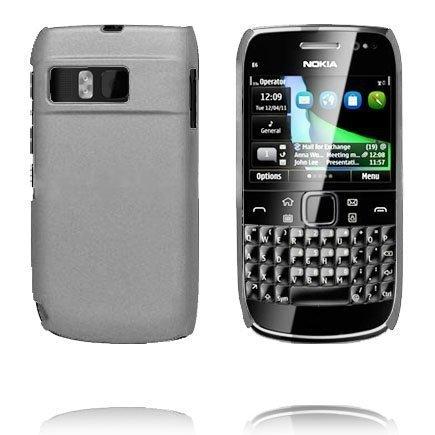 Hard Shell Harmaa Nokia E6 Suojakuori