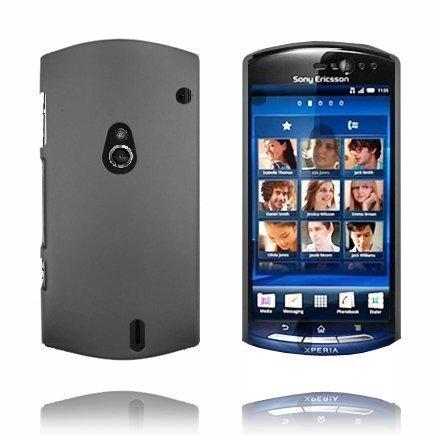 Hard Shell Harmaa Sony Ericsson Xperia Neo Suojakuori