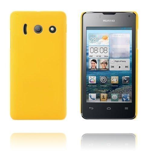 Hard Shell Keltainen Huawei Ascend Y300 Suojakuori