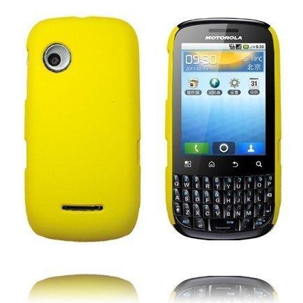 Hard Shell Keltainen Motorola Fire Suojakuori
