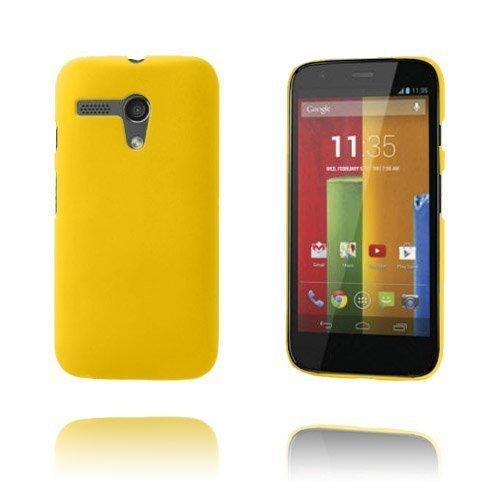 Hard Shell Keltainen Motorola Moto G Suojakuori