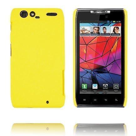 Hard Shell Keltainen Motorola Razr Suojakuori