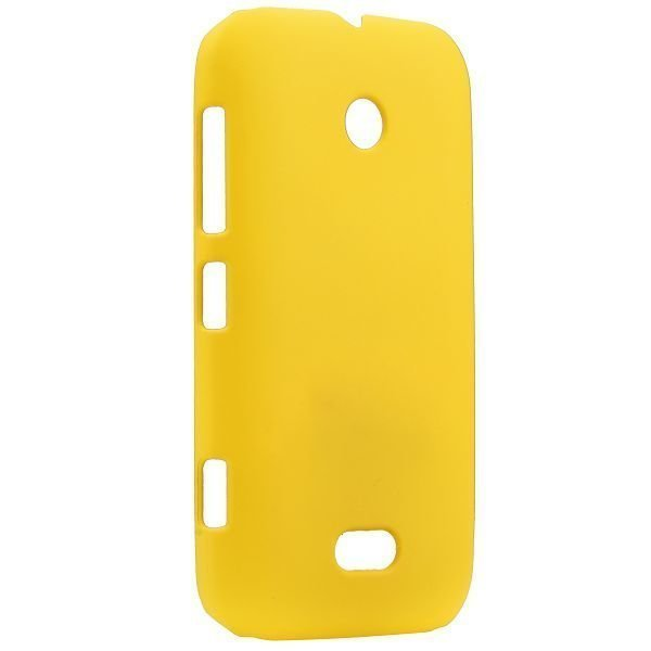 Hard Shell Keltainen Nokia Lumia 510 Suojakuori