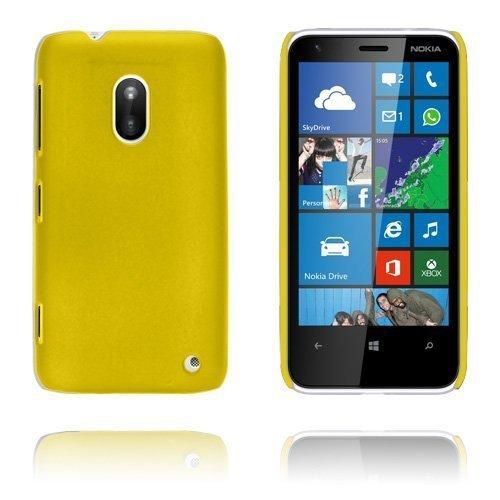 Hard Shell Keltainen Nokia Lumia 620 Suojakuori