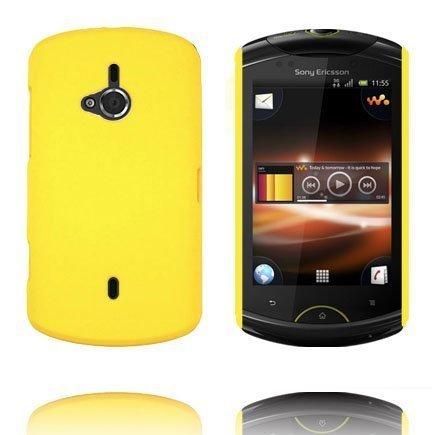 Hard Shell Keltainen Sony Ericsson Live Suojakuori