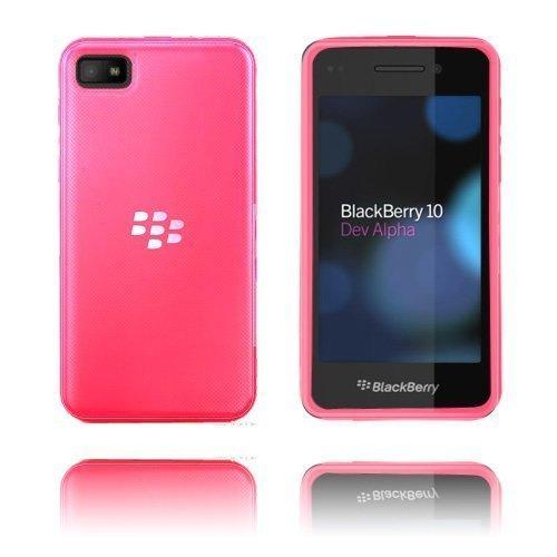 Hard Shell Kuuma Pinkki Blackberry Z10 Suojakuori