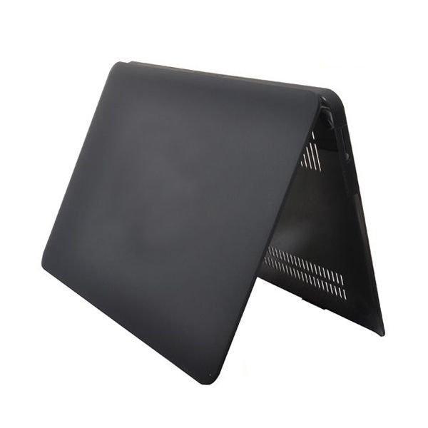 "Hard Shell Musta Macbook Air 13.3"" Suojasuojakuori"