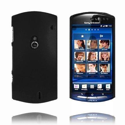 Hard Shell Musta Sony Ericsson Xperia Neo Suojakuori