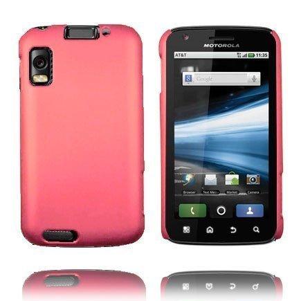 Hard Shell Pinkki Motorola Atrix 4g Suojakuori