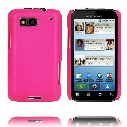 Hard Shell Pinkki Motorola Defy Suojakuori
