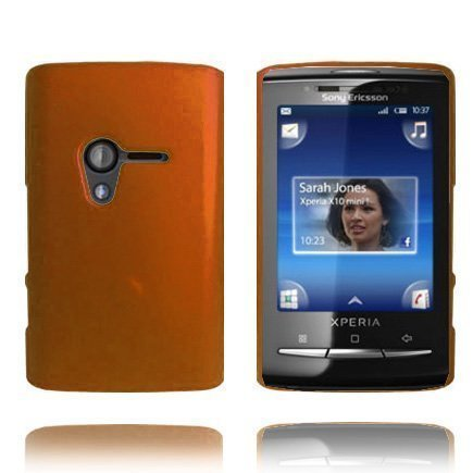 Hard Shell Pronssi Sony Ericsson Xperia X10 Mini Suojakuori