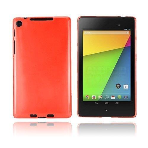 Hard Shell Punainen Google Nexus 7 Ii Suojakuori