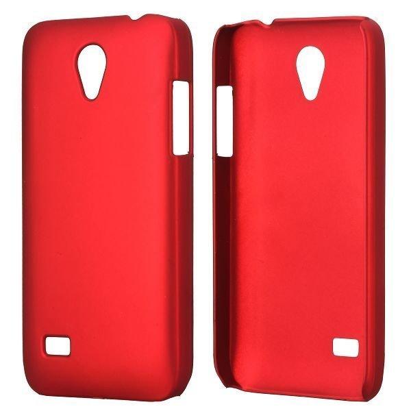 Hard Shell Punainen Huawei Ascend G330d Suojakuori