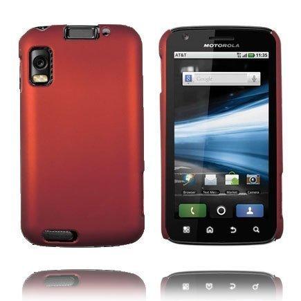 Hard Shell Punainen Motorola Atrix 4g Suojakuori