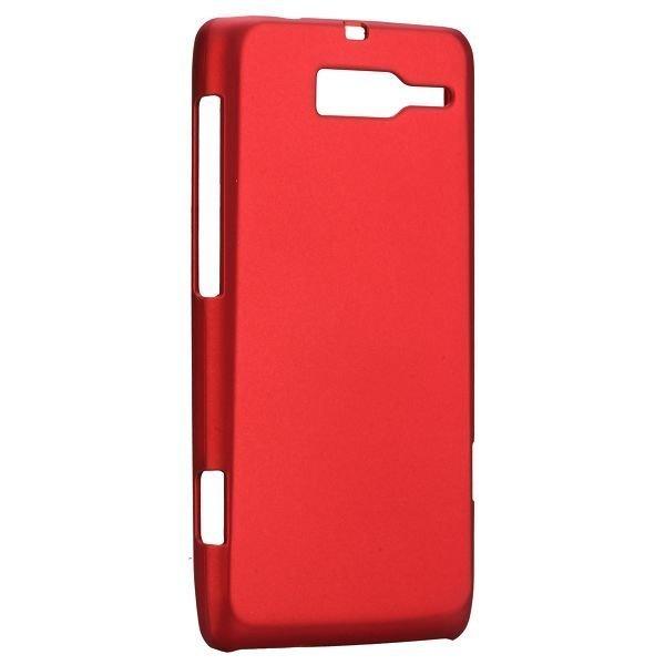Hard Shell Punainen Motorola Droid Razr M Suojakuori