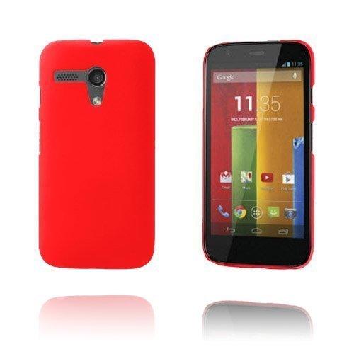 Hard Shell Punainen Motorola Moto G Suojakuori