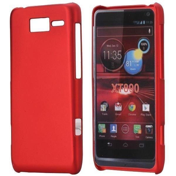 Hard Shell Punainen Motorola Razr I Suojakuori
