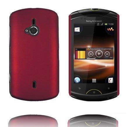 Hard Shell Punainen Sony Ericsson Live Suojakuori