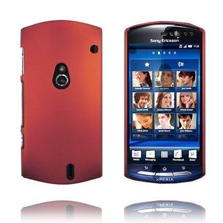 Hard Shell Punainen Sony Ericsson Xperia Neo Suojakuori