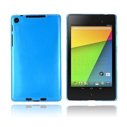 Hard Shell Sininen Google Nexus 7 Ii Suojakuori