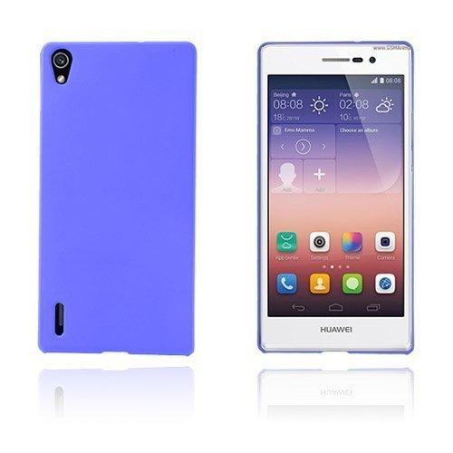 Hard Shell Sininen Huawei Ascend P7 Suojakuori