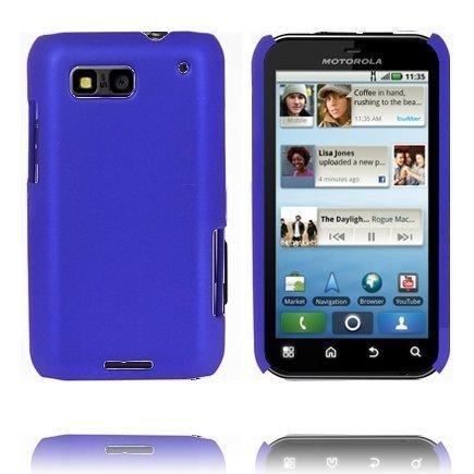 Hard Shell Sininen Motorola Defy Suojakuori