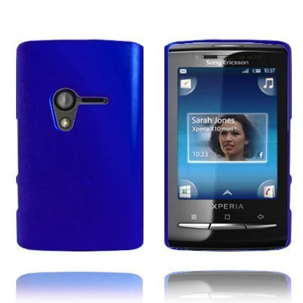 Hard Shell Sininen Sony Ericsson Xperia X10 Mini Suojakuori