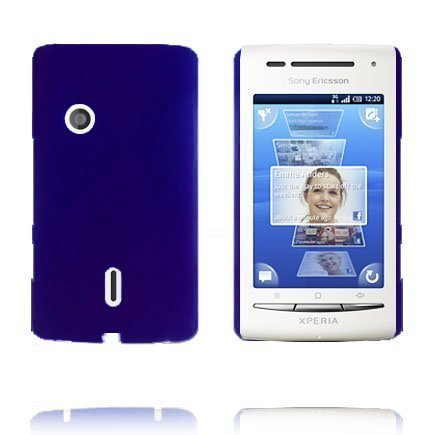 Hard Shell Sininen Sony Ericsson Xperia X8 Suojakuori