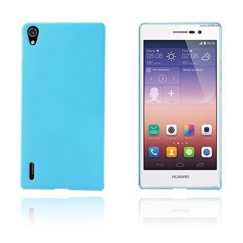 Hard Shell Vaalea Sininen Huawei Ascend P7 Suojakuori