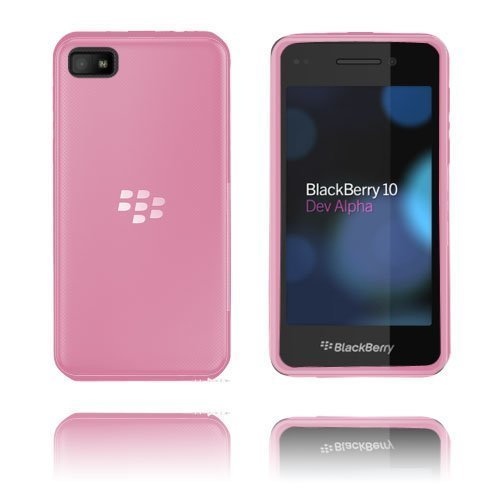 Hard Shell Vaaleanpunainen Blackberry Z10 Suojakuori